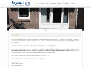 oude website van Beyaart