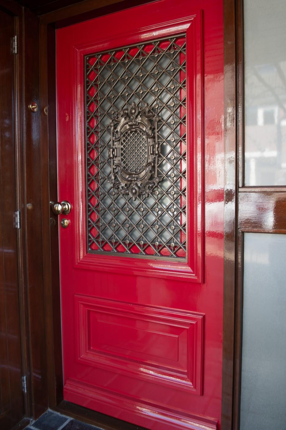 Luxe voordeur