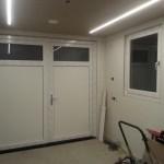 Openslaande garage deuren kunststof